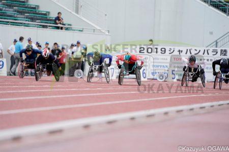 サムネイル:2019.7 生馬 ジャパンパラパラ陸上競技大会(岐阜)
