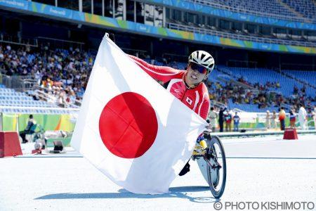 サムネイル:2016.09 リオデジャネイロパラリンピック 佐藤選手銀メダル獲得