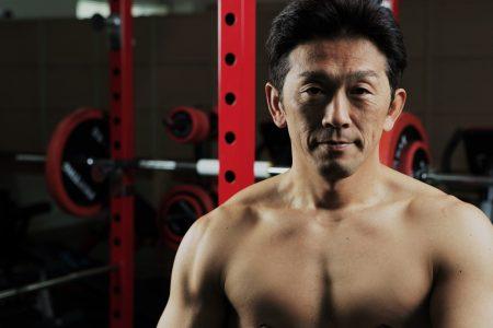 サムネイル:松永選手の鍛え上げられた肉体
